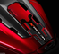 Paraserbatoio ADESIVO 3D compatibile per NC 750 X MOTO HONDA NC750X 2016-2020