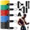 COOLGIRL Bande Fitness Resistenza(Set di 5) Fasce di Resistenza Terapeutiche | Bande Fitne...