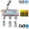 Eurosell - Cavo distributore a banda larga per TV DVB-T e via cavo, SAT DVBS DVBS2 DVBT DV...