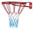 KIMET HangRing Canestro da basket con anello e rete, qualità e sicurezza testate, dimensio...