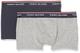 Tommy Hilfiger 2P TRUNK Intimo, Multicolore (Grey Heather/Navy Blazer 901), 4-5. (Talla pr...