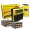 PATONA Doppio LCD Caricabatteria + 2x Batteria NP-F970 compatibile con Sony Camcorder CCD-...