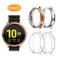 WD&CD Cover Compatibile per Samsung Galaxy Watch Active 2 44mm [4 Pezzi], TPU Morbide Anti...