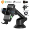 Wefunix Caricabatterie Auto Wireless Caricatore Veloce Sensore Automatico USB C+Adattatore...