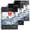 ARTEZA Album Disegno Carta Acquerello Professionale, Fogli di Carta Pressata a Freddo Priv...