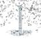 Relaxdays Cannone spara coriandoli 40 cm alto, carnevale, idea regalo decorazione matrimon...