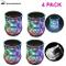 Zeerkeer Cambiamento Cromatico Bicchiere Bicchieri con LED 5 LED Luci Acrilico Plexiglass...
