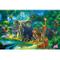 GREAT ART Fotomurale per Camera dei Bambini – Animali della Giungla – Decorazione Jungle A...