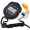 Zaleonline Cronometro Digitale, Cronometro Allarme Sport Portatile con Fischietto per Calc...