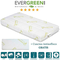 EVERGREENWEB - Materasso per Bambini 70x160 in LATTICE 100% x Lettino o Culla h 12 cm + Cu...