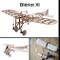 Blériot XI Slow Flyer Kit Costruzione Aereo, Modellino Aereo Legno, Scala 1/20, Apertura A...