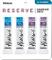 D'Addario Reserve - Confezione ance di prova per clarinetto in Sib, durezza 3.0/3.5