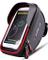 Borsa Telaio Bici ,Impermeabile Borsa Manubrio Bicicletta con Touch Screen Borsa Porta Cel...