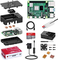 Bqeel Raspberry Pi 4 Model B 2GB RAM Starter Kit, MicroSD 64GB, RPi Barebone con accessori...