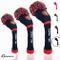 FINGER TEN Knit Golf Headcover Set di 3 per Legno di Driver Fairway Hybrid 1 3 5,e Ibrida...