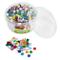 Rayher Set tessere per mosaico, tasselli in vetro morbido, piastrelle ideali per decorazio...