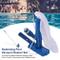 SOWLFE Aspirapolvere Portatile per Piscina - Pulitore subacqueo per Piscina | Set aspirapo...