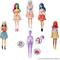 Barbie- Color Reveal Assortimento a Sorpresa, Vestito e Acconciatura Giocattolo per Bambin...