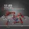 Banbie 12 Kit di Kit di luci stroboscopiche a LED Super Lampeggianti Forti per 1/10 1/8 RC...
