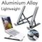 RioRand Supporto Portatile per Laptop Supporto da scrivania Pieghevole Universale ventilat...