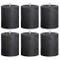 6X rustico candela Metallic Sensation 80/68, antracite