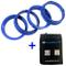 4 Anelli Centraggio 66,6 - 57,1 per Molti Modelli di Audi VW Seat Skoda Mercedes BMW Chrys...