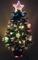 Christmas Concepts® 2FT Albero di Natale in Fibra Verde con Stelle E Baule E Base Rossa