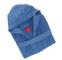 Gabel 09400 23 Accappatoio Adulto, 100% Cotone, Blu, XL