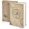 Logbuch-Verlag libro delle ricette ricettario A4 personalizzabile DIY vuoto beige vintage...