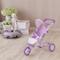 Olivia's Little World- Passeggino da Jogging per Bambole, Colore Purple/White, OL-00006