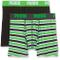 Puma Basic Boxer Printed Stripe 2P Boxer Shorts, Boxer Ragazzo, Verde (Classic Green), 13-...