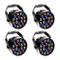 LED Par Fase Luce Effetto Faretto Illuminazione DMX512 RGBW Illuminazione Palcoscenico per...