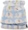 Bieco bambino e coperta in pile elefante blu dei bambini, alta qualità e molto accogliente...
