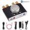 ESYNiC Amplificatore di Potenza Bluetooth 50W + 50W con Alimentatore HiFi Amp Amplifier Co...