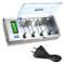 BONAI Batteria Ricaricabili 9V/D/C/AA/AAA Caricabatterie Con Display LCD Retroilluminato C...