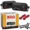 COPPIA DI CASSE NERE BASS REFLEX BOSS AUDIO SYSTEM AVA6200 AVA DA 18,50 CM A 3 VIE DA 200...