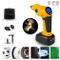 Pompa ad aria per auto, compressore elettrico con batteria 12 V, compressore ad aria, pomp...