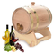 Botte di vino in legno, botti di rovere in legno di rovere per lo stoccaggio o l'invecchia...