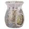YANKEE CANDLE Gold & Pearl Bruciatore per Tart, Multicolore, 11.6x11.3x14.7 cm