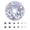 PandaHall Elite 600pcs 6 Taglie Occhi Bambole Occhi Pazzi in Plastica Wiggly Wobbly Googly...