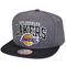 Mitchell & Ness - Snapback L.A. Lakers G2 Team Arch, colore: Carbone/Nero