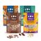 3Bears Porridge fantastico pacchetto mix – (4 x 400g) cacao, cocco, banana e papavero, fio...