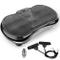 FITFIU Fitness PV-100 - Pedana vibrante oscillante colore nero e potenza 400w, Piattaforma...