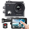 AKASO Action Cam, Native 4K WiFi EIS 40M Touch Screen,Telecomando,Custodia Impermeabi,Kit...