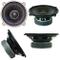"MASTER AUDIO CW501/4 altoparlante diffusore woofer 13,00 cm 130 mm 5"" 40 watt rms 80 watt..."