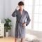 Inverno Uomo Flanella Abbigliamento per la casa Kimono Robe Gown Comodo Mantenere Caldo In...