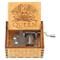 FGHFG Carillon Queen Brevi Mini Girevole Scolpire Pensieri Antichi Regali per Fidanzate, R...