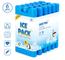 ilauke - 6 blocchi refrigeranti refrigeranti per ghiaccio, riutilizzabili per borsa isoter...
