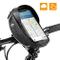 OUNDEAL Borsa Bici Manubrio, Borsa Bici Cellulare Impermeabile, Borsa Telaio Bici con TPU...