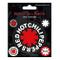 Set di 5 adesivi in vinile originali Red Hot Chili Peppers Star of Affinity
